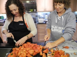 Kay & Sue Ann & Lloyd's tomatos.